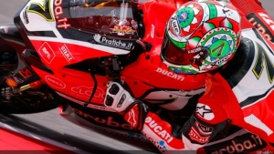Ducati team ready to race in Laguna Seca with Chaz Davies and Davide Giugliano
