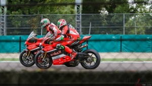 Positive test for the Aruba.it Racing – Ducati team in Misano ahead of the eighth round of the WorldSBK championship
