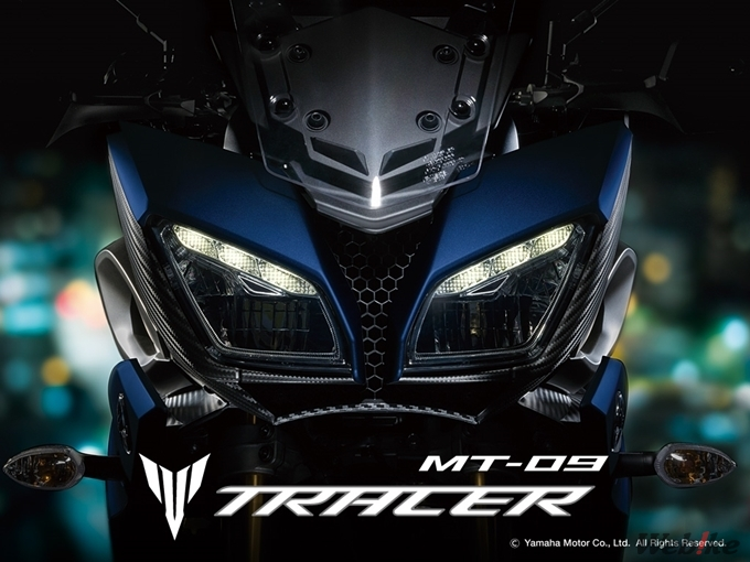 YAMAHA「MT-09 TRACER ABS」日規新色發表