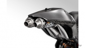 Akrapovic Heads to the 'Island' with Suter and Its First Two-Stroke Complete Exhaust System