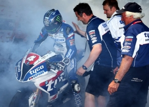 Hutchy too hot to handle in Superstock TT