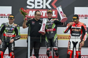 [Kawasaki]SBK Rd.8 Race2 Rea Doubles Up As KRT Riders Take Another 1-2