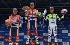 Trial1 One-two for Repsol Honda Team in France