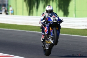 Canepa Delights at Home with Strong Seventh in Debut Misano Race