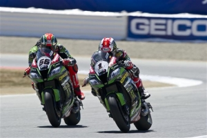[Kawasaki]SBK Rd.9 Rea And Sykes Secure First And Second Places After Saturday Race