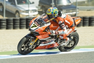 [DUCATI]SBK Rd.9 Tough Race 1 for the Aruba.it Racing – Ducati team in Laguna Seca
