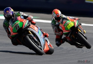 [Aprilia]MotoGP Rd.10 THE BEST RS-GP OF THE SEASON PENALIZED BY A DOUBLE RIDE THROUGH