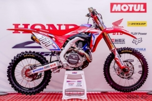 Bobryshev to race all-new 2017 CRF450RW from MXGP of the Americas