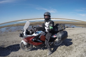Motorcycle World Record on Maiden Trip for BMW F 800 GT rider