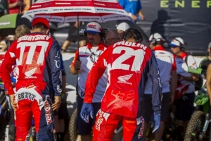 Team HRC back in action for MXGP season finale