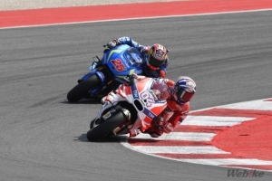 [DUCATI]MotoGP Rd.13 Andrea Dovizioso and Michele Pirro sixth and seventh respectively at Misano