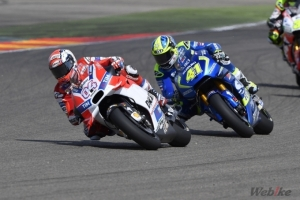 [DUCATI]MotoGP Rd.14 Andrea Dovizioso and Michele Pirro finish the Aragon Grand Prix in eleventh and twelfth place respectively