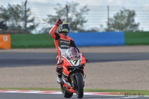 [DUCATI]SBK Rd.11 Brilliant win for Chaz Davies in Race 1 at Magny-Cours, right-shoulder issues stop Davide Giugliano