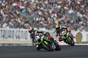[Kawasaki]SBK Rd.11 Race2 Podiums For KRT Riders As Rea Extends His Championship Lead
