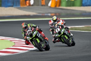 [Kawasaki]SBK Rd.11 Race1 Weather Plays Its Part As Sykes And Rea Go Third And Fourth