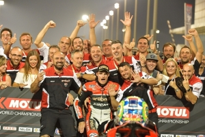 [DUCATI]SBK Rd.13 Chaz Davies and the Aruba.it Racing – Ducati team finish the 2016 WorldSBK championship with another double in Qatar