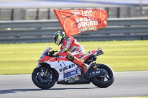 [DUCATI]MotoGP Rd.18 Andrea Iannone scores a splendid podium finish with third place in Valencia Grand Prix. Seventh place for Andrea Dovizioso