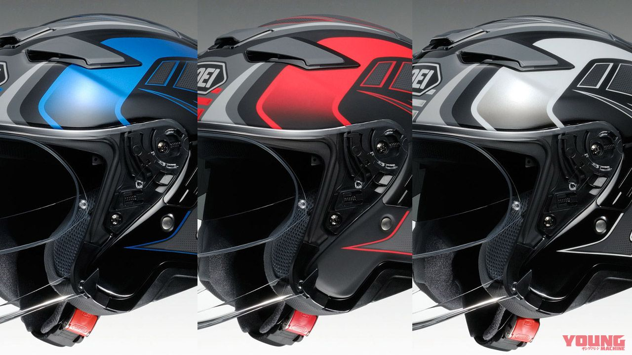 SHOEI「J-Cruise II」AGLERO新色彩繪釋出