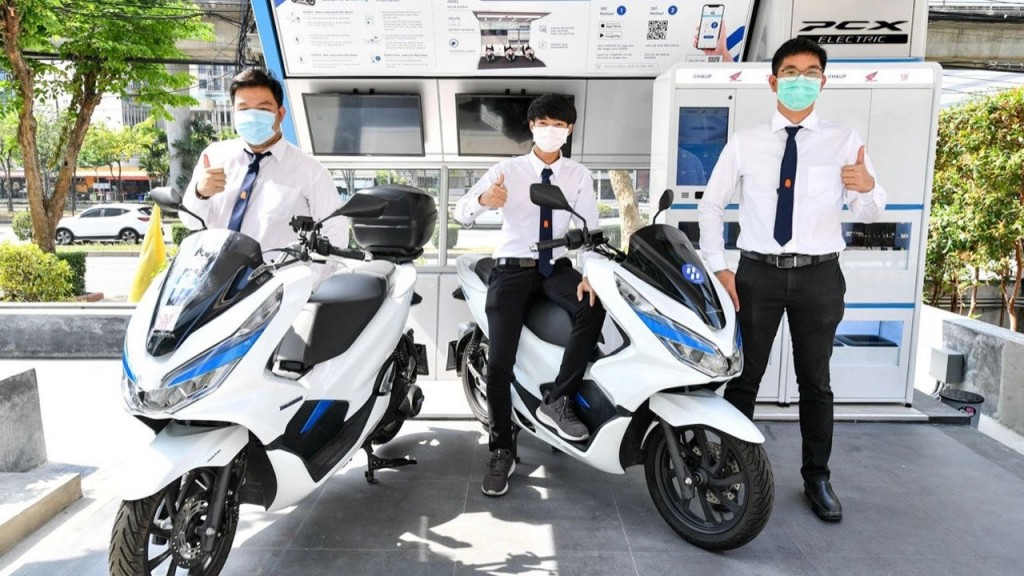AP HONDA在泰國推出「PCX Electric Eco system」