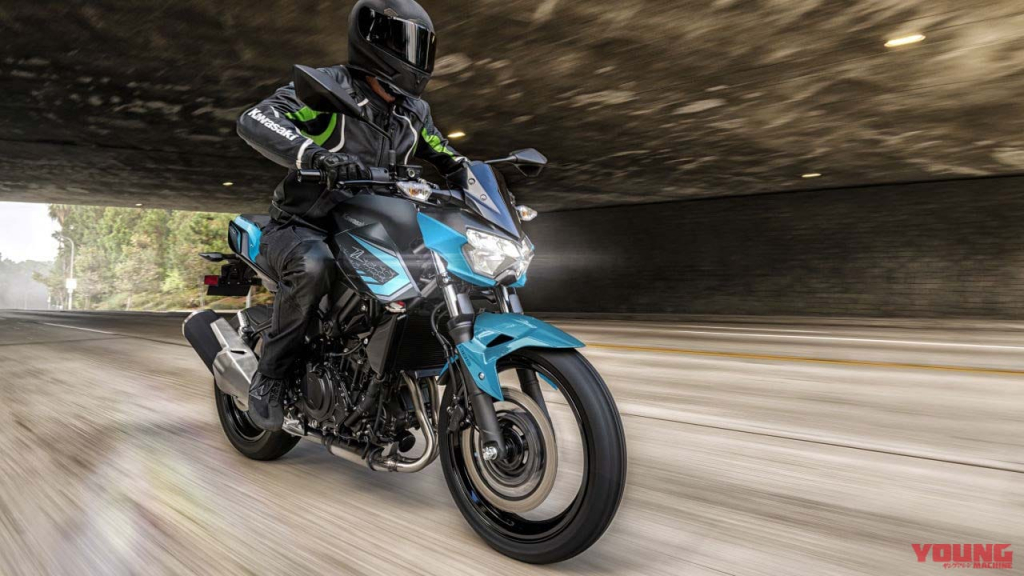 """KAWASAKI 2021 style """"Z250"""" blue and green new colors are here! – ElectroDealPro"""