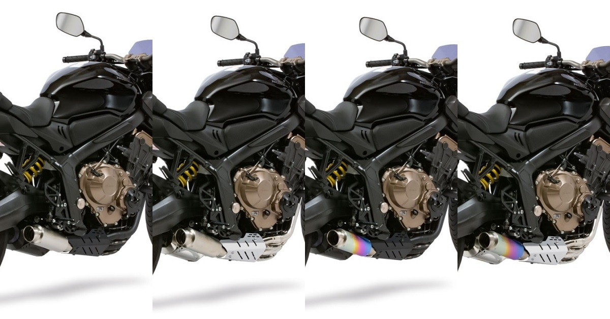 MORIWAKI推出CB650R/CBR650R用「CROSS-SHORT ZERO」全段排氣管
