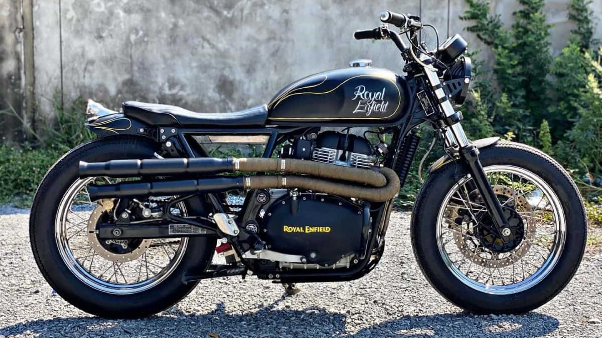 Royal Enfield「Interceptor 650」Street Tracker改裝款
